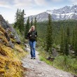 Woman on Trail — Stock Photo #5710832