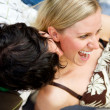 Royalty-Free Stock Photo: Kiss Flirt Couple