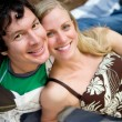 Happy Couple Picnic — Stock Photo #5711070
