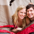 Summer Camping Couple — Stock Photo #5711349