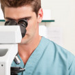 Medical or scientific researcher — Stock Photo