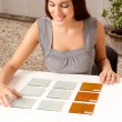 Choosing Tile Sample - Stock Photo
