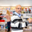 Royalty-Free Stock Photo: Man in Grocery Store