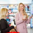 Young women shopping together — Stock Photo #5713839