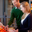 Supermarket Couple — Stock Photo #5716152