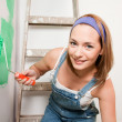 Woman Painting — Stock Photo #5717085