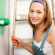 Royalty-Free Stock Photo: Painting Woman