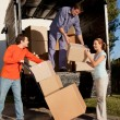 Stock Photo: Moving Team