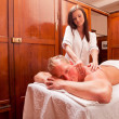 Spa Massage — Foto Stock