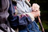 Elderly Man Outdoor — Stock Photo