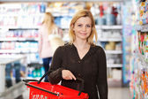 Obchod s potravinami portrét — Stock fotografie