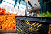 食料品の買い物 — ストック写真