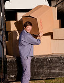 Professional Mover — Stock Photo