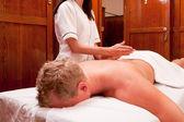 Percussive Massage — Stock Photo