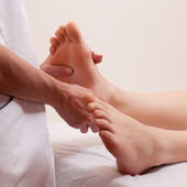 Foot Massage Detail — Stock Photo