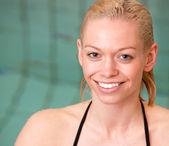 Pool Portrait — Stock Photo