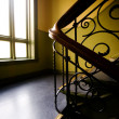 Art Nouveaux Staircase — Stock Photo