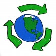 Recycle World — Foto de Stock