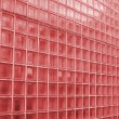 Red Glass Texture — Stock Photo