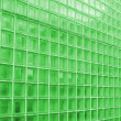 Green Cube Glass Texture — Stock Photo