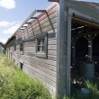Wooden Barn - Stock Photo