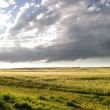Prairie Sky Landscape - Stock Photo