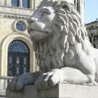 Stock Photo: Lion Statue