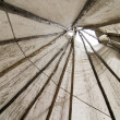 Tepee Detail - Stock Photo
