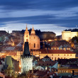 Prague Castle Cityscape — Stock Photo