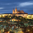 Prague Castle Cityscape - Stok fotoraf