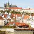 Prague Castle Scenic - Stockfoto