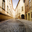 Quaint Street Prague — Foto de Stock