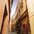 Stock Photo: Quaint Street Prague