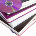 CD Book — Stock Photo