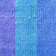 Blue Cloth Texture — Stock Photo