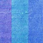 Blue Cloth Texture — Stock Photo