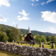 Hol Stave Church - Stock Photo