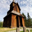 Old Stave Church - Stock Photo