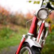 Retro Bike Detail - Stock Photo