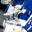 Stock Photo: Marching Drummers