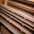 Old Pipe Organ Interior - Stock Photo