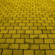 Stock Photo: Yellow Brick Road