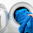 Royalty-Free Stock Photo: Washing Clothes