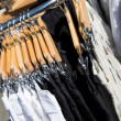 Clothing Rack — Stock Photo