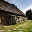Stock Photo: Viking Long House