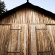 Stock Photo: Viking Storage Building