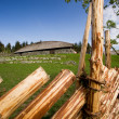 Viking Longhouse - Stock Photo