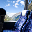 Norwegian Fjord Bus Tour - Stock Photo