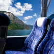 Noorse fjord bus tour — Stockfoto