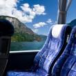 bus tour i norweskich fiordów — Zdjęcie stockowe